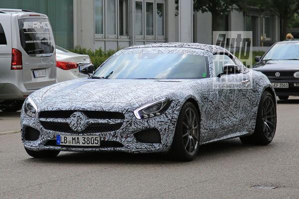 Mercedes-AMG GT C Roadster opgedoken