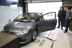 Citroën C4 Coupé VTS (2005) - Op de rollenbank