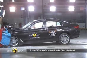 BMW 5-serie - Crashtest - EuroNCAP