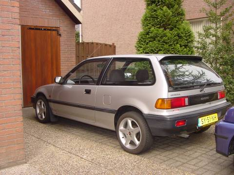 Honda civic 1 4 gl 1988 gebruikerservaring autoreviews for Honda civic 1988