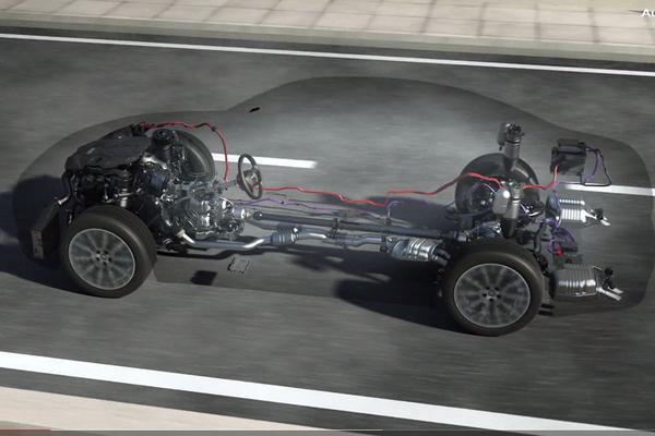 Nieuw actief veersysteem voor Audi A8