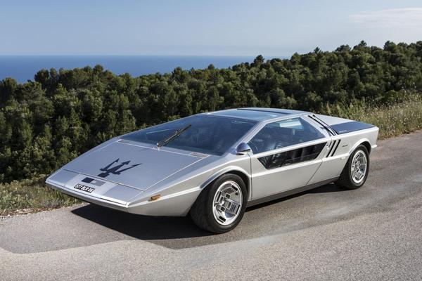 Unieke Maserati concept-car onder de hamer