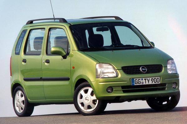 Opel Agila 1.2-16V Elegance 2001