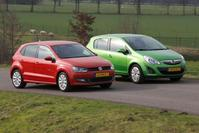 Occasiondubbeltest - Opel Corsa 1.4 aut. vs VW Polo 1.2 TSI