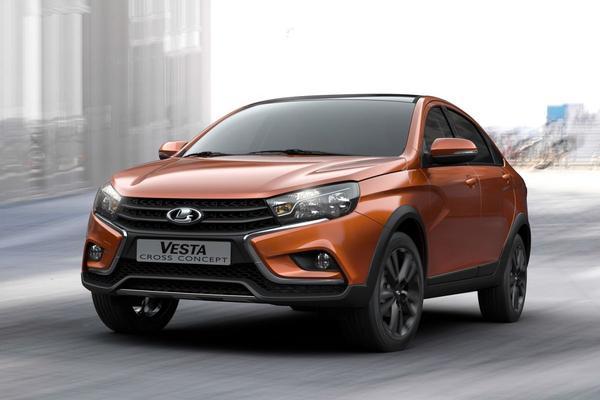 Vier nieuwe concept-cars van Lada
