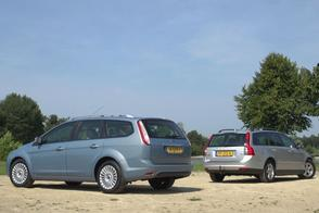 Ford Focus Wagon vs. Volvo V50 - Occasion Dubbeltest