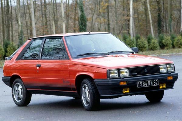 Afgestoft: Renault 11 Turbo