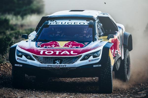 Peugeot presenteert 3008 DKR Maxi