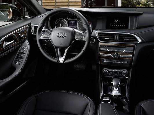 Infiniti Q30: dit is het dashboard