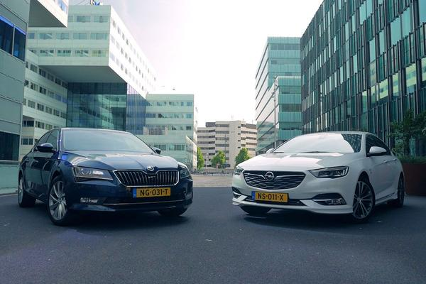 Video: Opel Insignia vs Skoda Superb - Dubbeltest