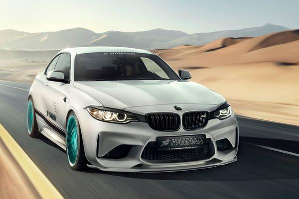 BMW M2 aangepakt door Hamann