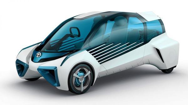 Toyota FCV Plus is kleintje Mirai