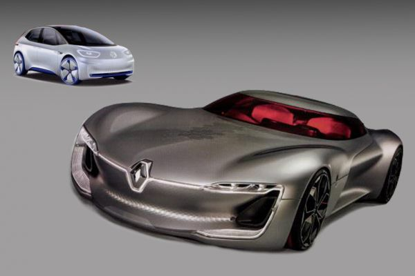 Gelekt: Renault TreZor en Volkswagen I.D. Concept