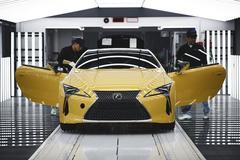 Productie Lexus LC voor Europa van start