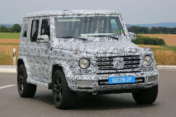 Mercedes test raadselachtige G-klasse