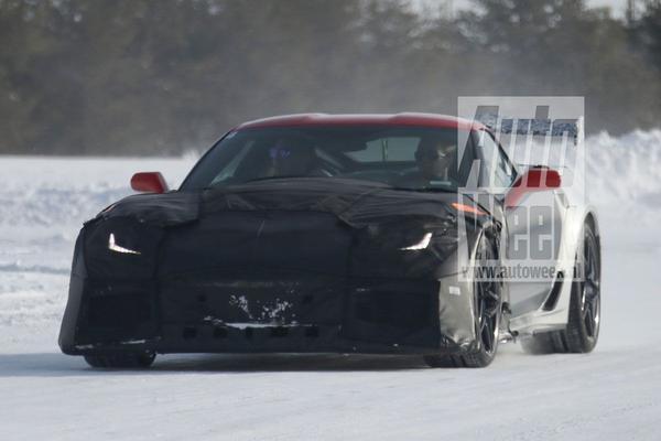 Is dit de Chevrolet Corvette ZR1?