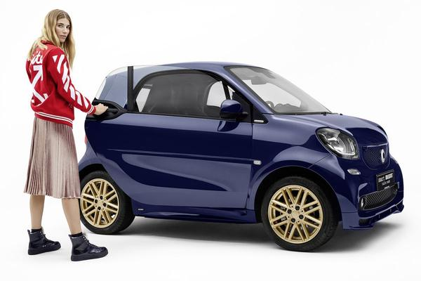 Model doet klein model: Smart Fortwo Brabus