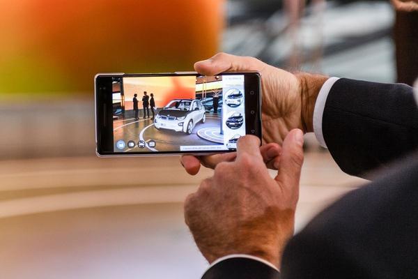 BMW configureren met je smartphone