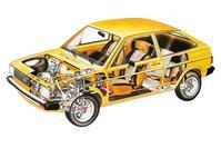 Doorkijk Volkswagen Gol