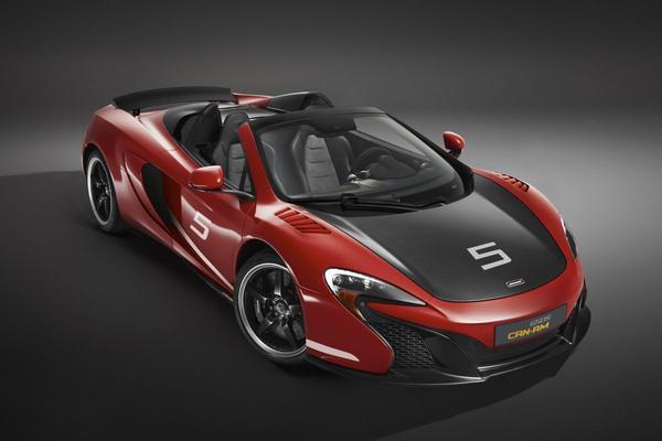 Exclusief eerbetoon: McLaren 650S Can-Am