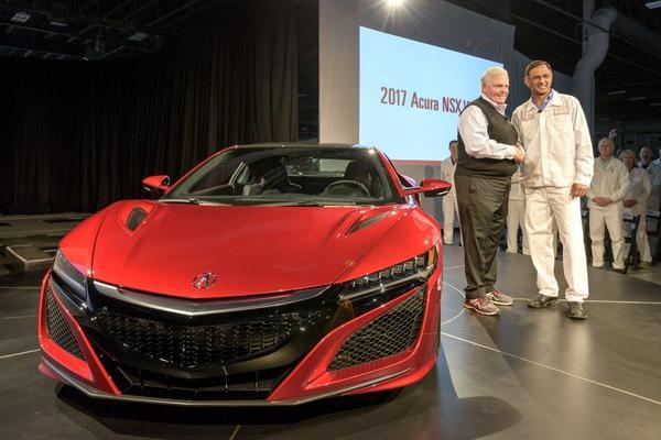 Eerste Acura NSX is een feit
