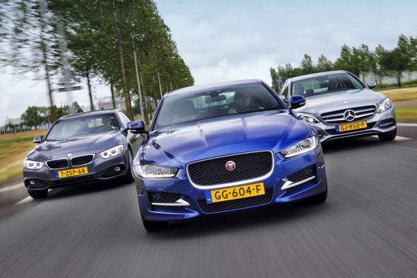 Jaguar UK laat klanten XE-concurrenten testen