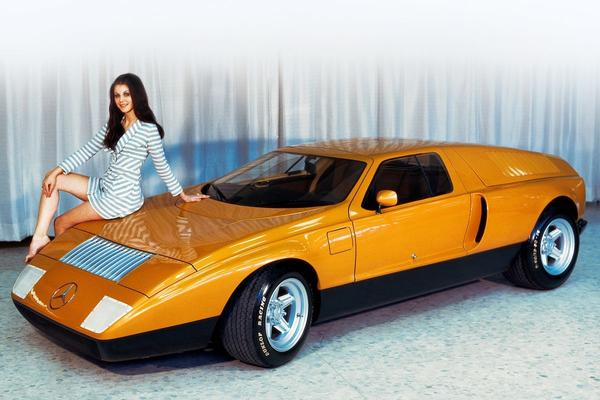 Back to the Future: Mercedes-Benz C 111