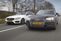 audi a4 avant vs. mercedes-benz c-klasse estate