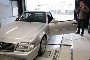 Mercedes-Benz SL60 AMG - Op de Rollenbank