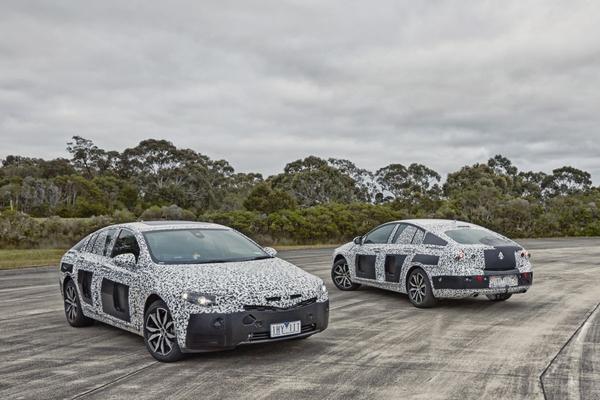 Nieuwe Opel Insignia krijgt dikke Holden-versie
