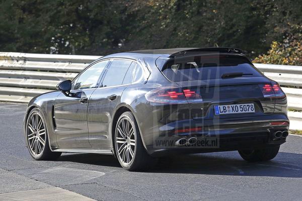 Porsche Panamera 'Sport Turismo' opnieuw gespot