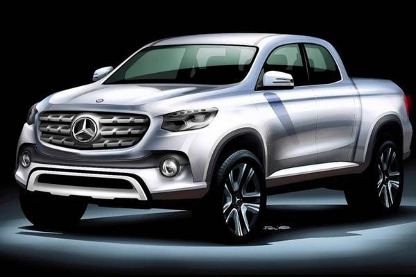 Mercedes-Benz komt met pick-up