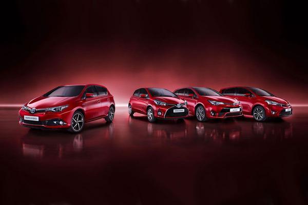 Modeljaarupdate voor Toyota-modellen