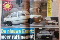 Ford Escort spionage 1990
