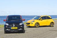 Smart Forfour Brabus Xclusive - Opel Adam 1.0 Turbo Unlimited