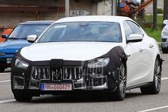 Facelift Maserati Ghibli onderweg
