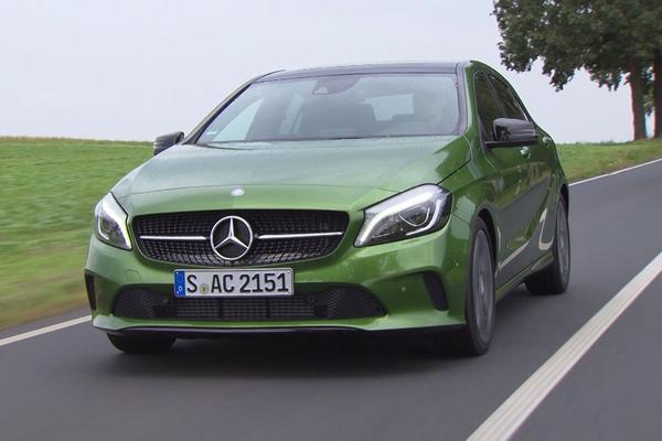 Video: Rij-impressie: Mercedes A-klasse