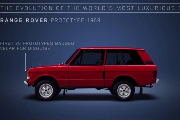 Video: De evolutie van de Range Rover