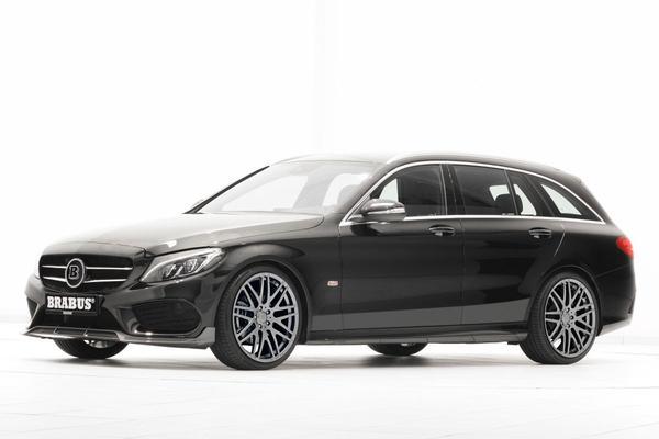 Brabus-Benz: Mercedes C-klasse afgetraind