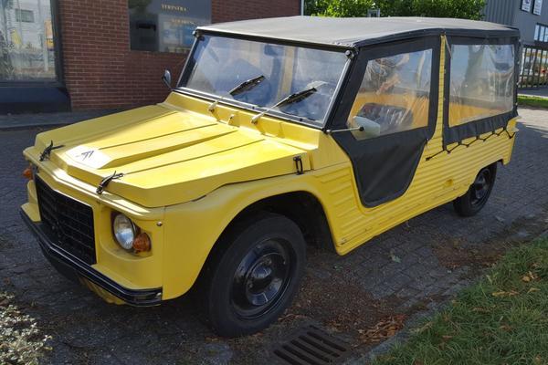 In het wild: Citroën Méhari (1971)