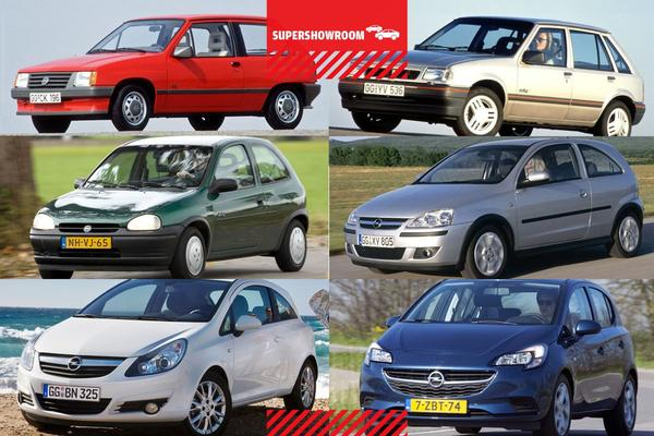 Supershowroom: Opel Corsa
