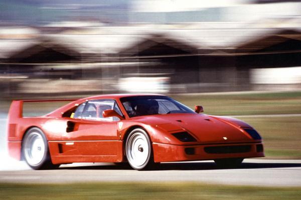 Verjaardag: Ferrari F40 wordt 30 jaar