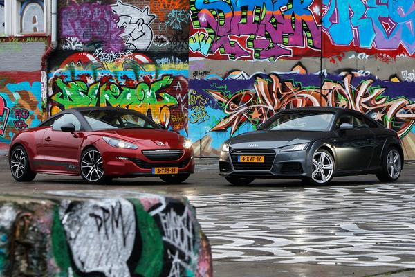 Video: Dubbeltest - Audi TT vs. Peugeot RCZ R