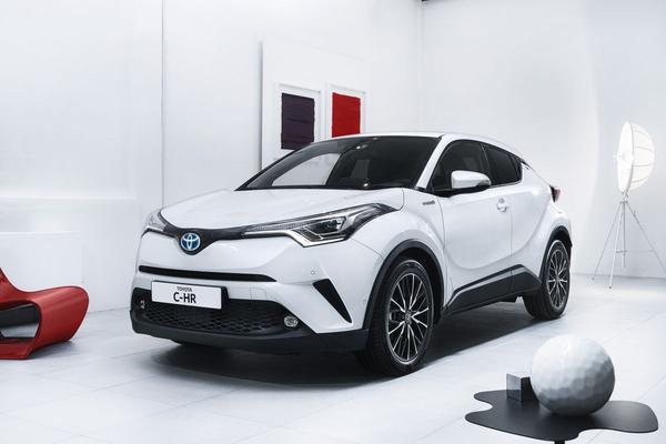 Toyota C-HR: voorbode op frisser Toyota