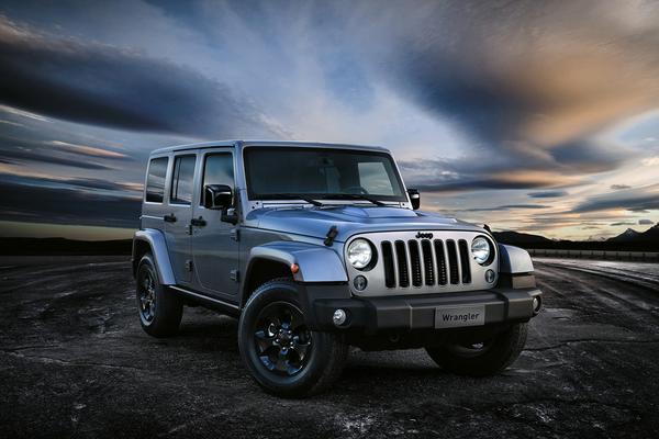Jeep Wrangler Black Edition II naar Genève