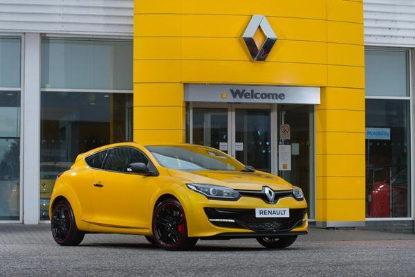 Allerlaatste Renault Mégane RS staat te koop