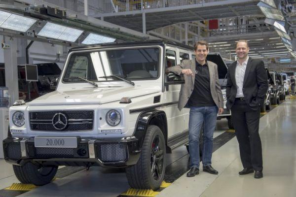 Mercedes G-Klasse bereikt nieuw productierecord