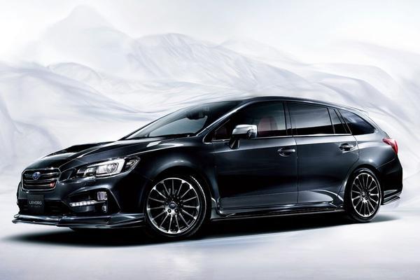 Subaru Levorg STI Sport getoond