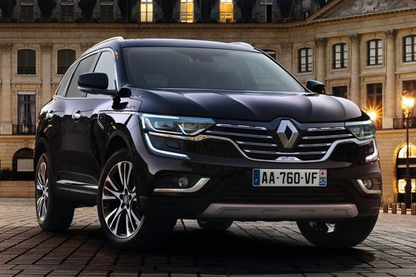 Renault Koleos als Initiale Paris in Parijs