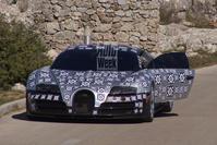 Bugatti Chiron spyshot